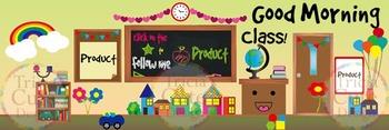 Custom Animated Quote Banner – Classroom Theme