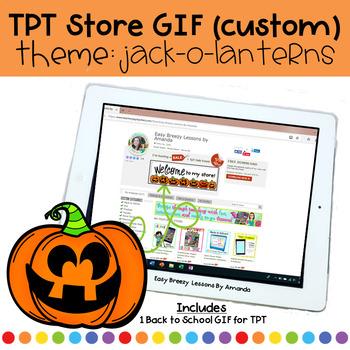 Custom Animated Quote Box (GIF) Theme: Jack o lanterns