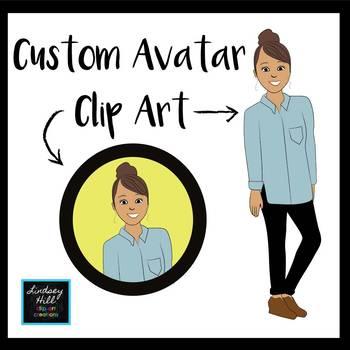 Custom Avatar Clip Art