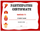 Custom Basketball Participation Certificate