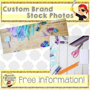 Custom Branded Stock Photos - information