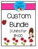 Custom Bundle - 3 Units for $4.00