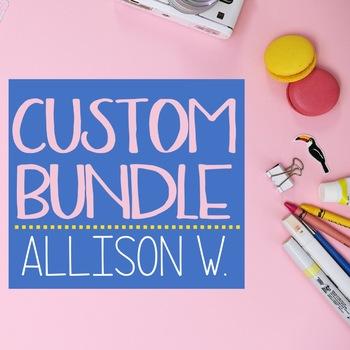 Custom Bundle - Allison W.