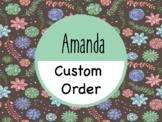 Custom Bundle - Amanda