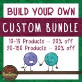 Custom Bundle - Apples and Bananas Education Custom Bundle