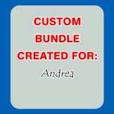 Custom Bundle Created For Andrea (25% OFF)