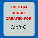 Custom Bundle Created For Janis G. (20% OFF)