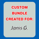 Custom Bundle Created For Janis G. (20% OFF)