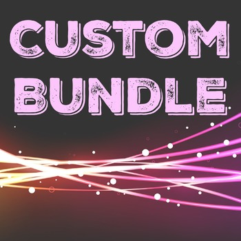 Custom Bundle For Suzanne