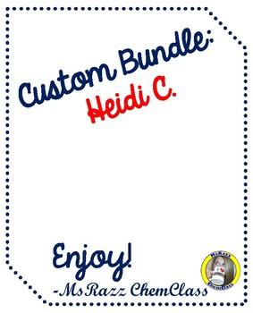 Custom Bundle - Heidi C.