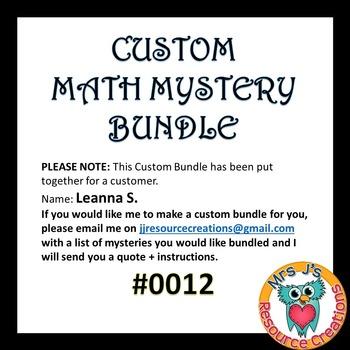 Custom Bundle Order #0012_Leanna S.