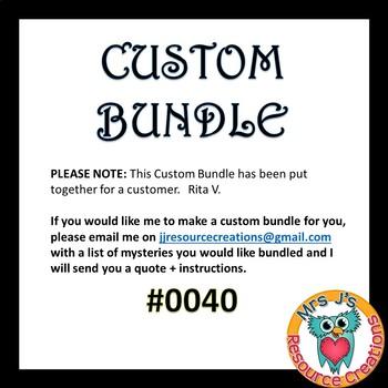 Custom Bundle Order #0040_Rita