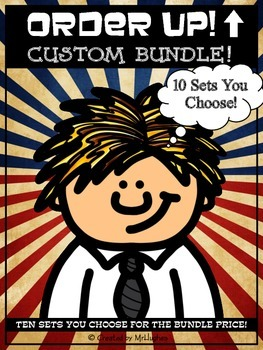 Custom Bundle Order Up! Set (10 Sets YOU Choose)
