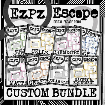 Custom Bundle Order for K. Brown