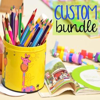 Custom Bundle: Pre-Kindergarten-2nd Grade Classroom Guidance Lesson Bundle
