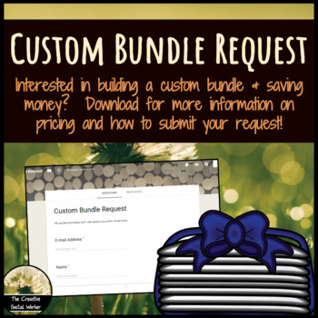 Custom Bundle Request