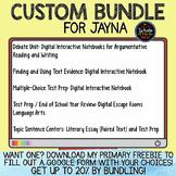 Custom Bundle Request for Jayna