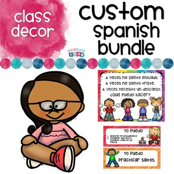 Custom Order SPANISH files
