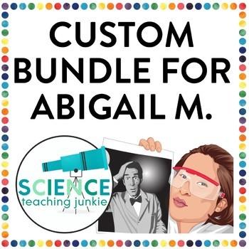 Custom Bundle for Abigail M.