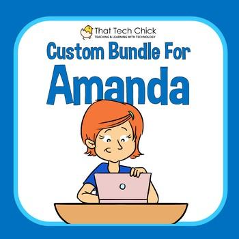Custom Bundle for Amanda