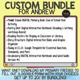 Custom Bundle for Andrew