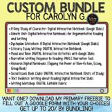 Custom Bundle for Carolyn G.