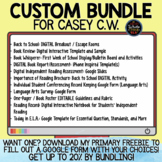 Custom Bundle for Casey C.W.