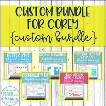Custom Bundle for Corey