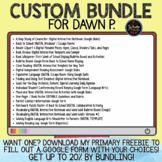 Custom Bundle for Dawn P.