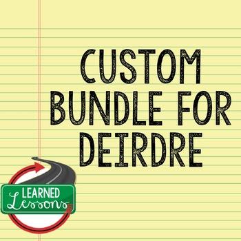 Custom Bundle for Deirdre (World Geography and World History)
