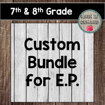 Custom Bundle for E.P.
