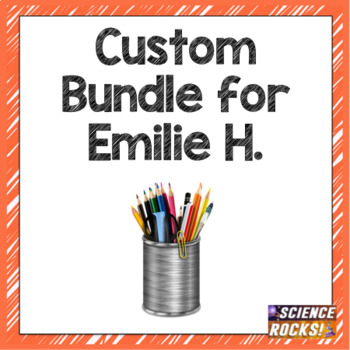 Custom Bundle for Emilie H.