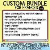 Custom Bundle for Frances
