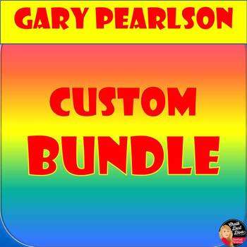 Custom Bundle for Gary Pearlson