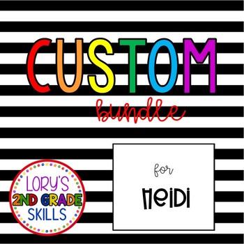 Custom Bundle for Heidi