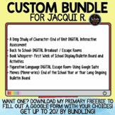 Custom Bundle for Jacqui