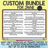Custom Bundle for Jayne