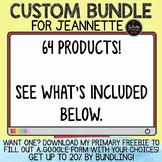 Custom Bundle for Jeannette