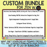 Custom Bundle for Jen W.