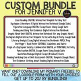 Custom Bundle for Jennifer V.