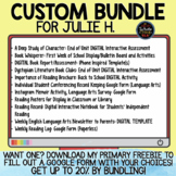 Custom Bundle for Julie H.