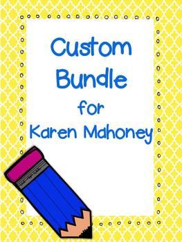 Custom Bundle for Karen Mahoney
