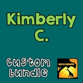 Custom Bundle for Kimberly C.