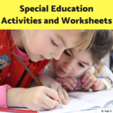 Special Education Activities and Worksheets
