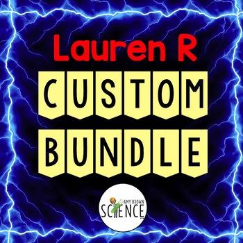 Custom Bundle for Lauren R