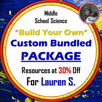 Custom Bundle for Lauren S