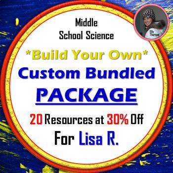 Custom Bundle for Lisa R