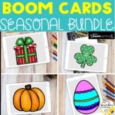 Seasonal SEL Activities - Boom Cards Growing Super Bundle