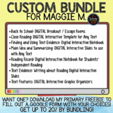Custom Bundle for Maggie M.