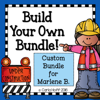 Custom Bundle for Marlene
